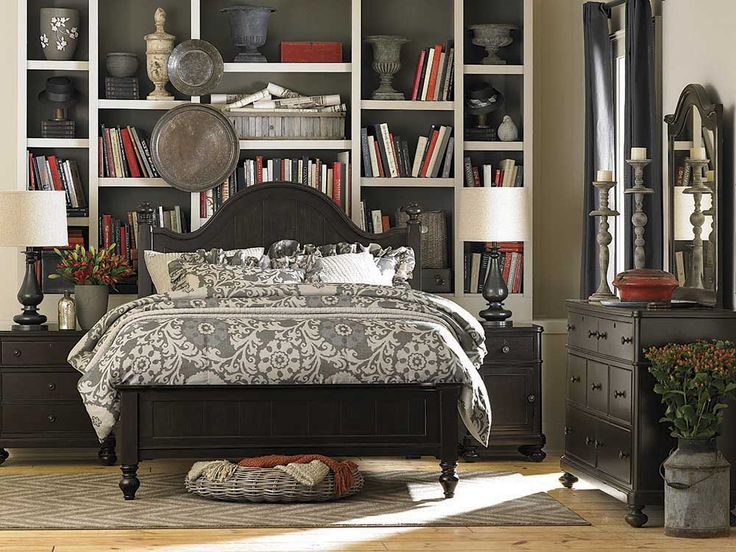 Arched Panel Bed By Bassett Furniture