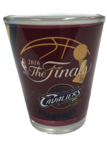 Cleveland Cavaliers 2016 NBA Champions Boelter Color Sublimated Shot Glass (2oz)