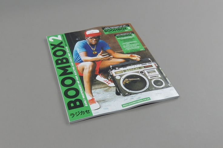 VA / Soul Jazz Records Presents BOOMBOX 2: Early Independent Hip Hop, Electro And Disco Rap 1979-83