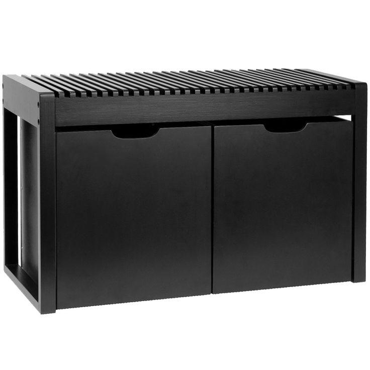 sitzbank holzbank flurbank truhe schubank sitztruhe kommode schuhregal ebay. Black Bedroom Furniture Sets. Home Design Ideas