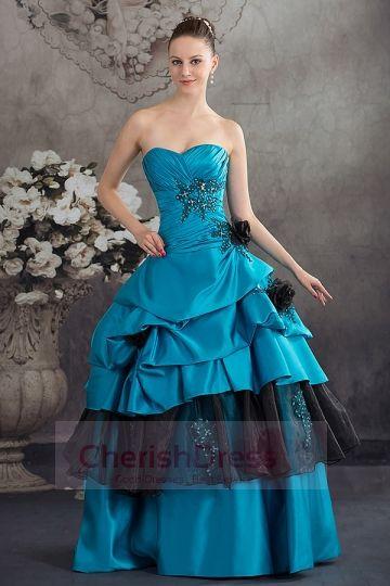 BLUE Bridal Gown - Color Wedding Dresses
