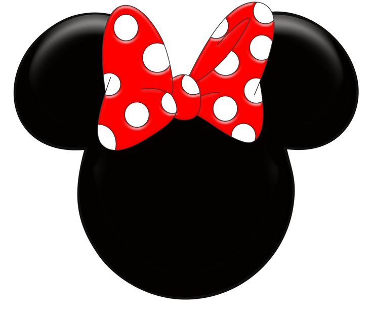 Animal Print Minnie Mouse Clipart