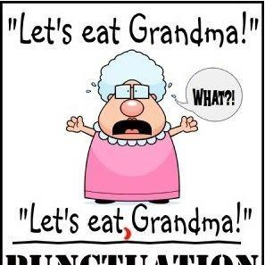 Punctuation is a really important part of writing. It's used to help make your writing easy to understand.