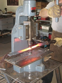 Fly Press Not A Power Hammer Artist Blacksmith Mini