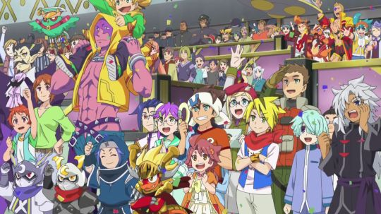 Characters from the first and second season