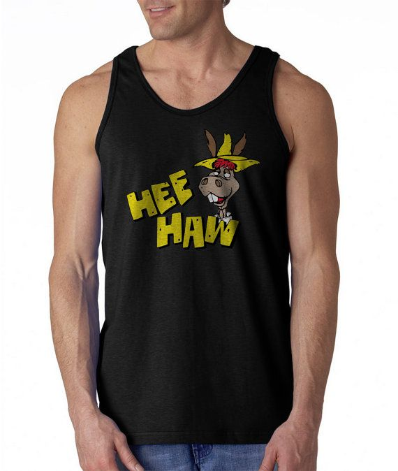 Gildan T-Shirt Hee Haw Cartoon Size S-XXL Hee Haw Tank Tops