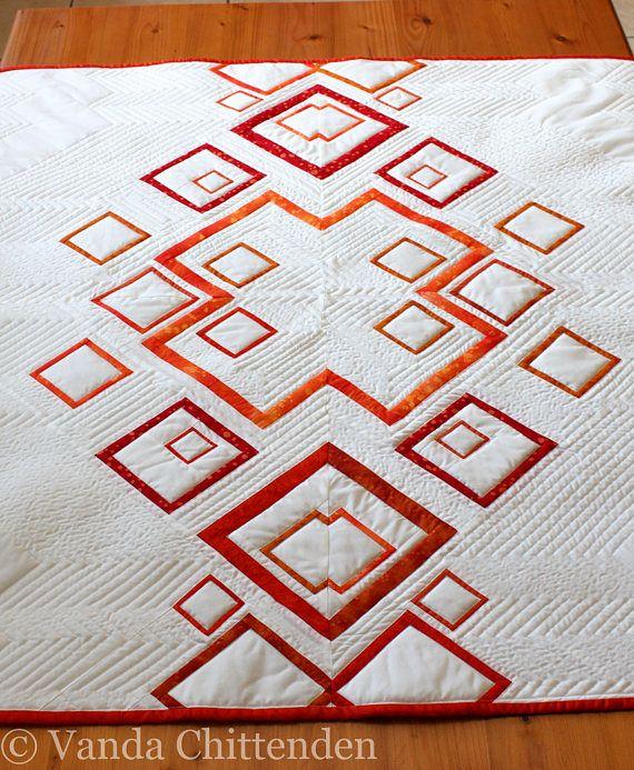 Modern Geometric Kaleidoscope PDF Quilt Pattern