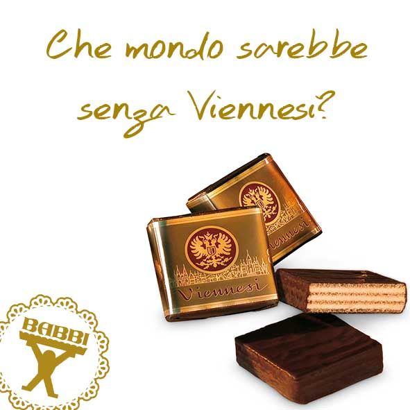 Viennese BABBI Wafer Chocolate