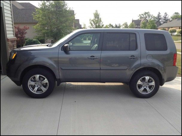 Tires for 2012 Honda Pilot