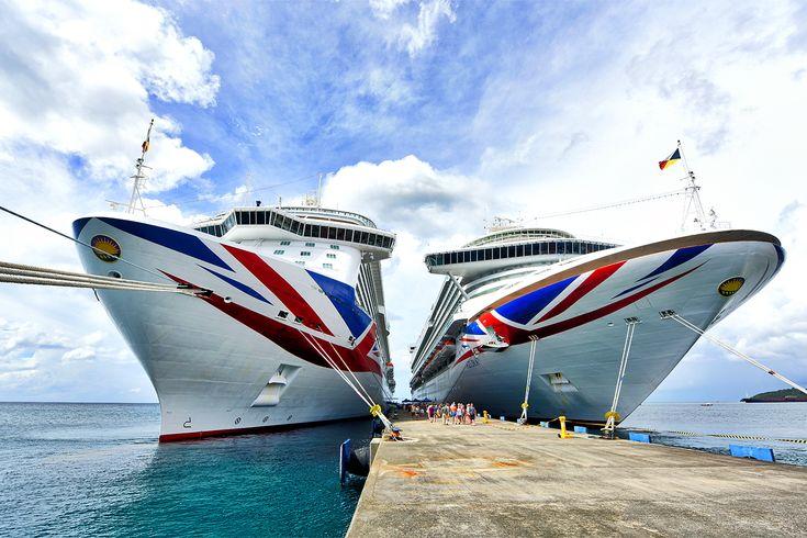 OK P&O fans name these two beauties! @pandocruises #pocruises #cruiseship