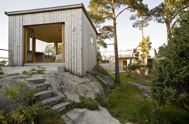 LY Arkitekter, Norway. Storøya Summer house. Small pavillion.