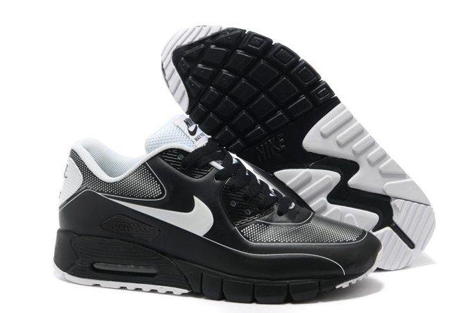 Chaussures Nike Shox R4 Homme H79 Bleu Blanc