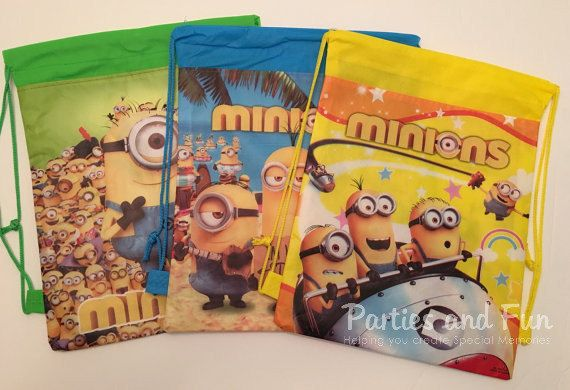 Minions Party Favors Minion Birthday Party Minion by partiesandfun