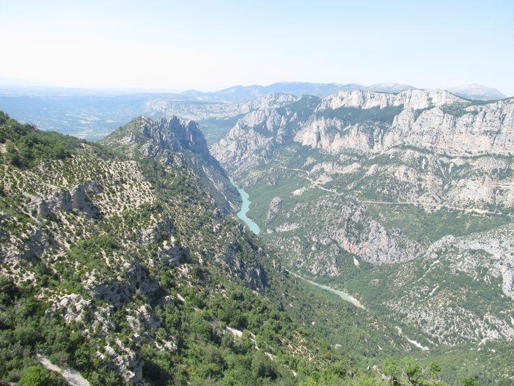View at Georges du Verdon, France