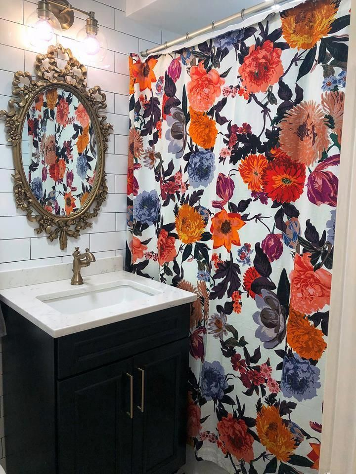 Anthropologie Agneta Shower Curtain Bathroomfaucets Interior
