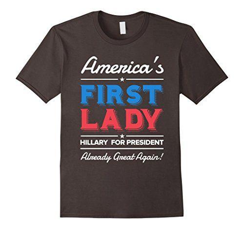 Men's Hillary Clinton America First Lady For President Sh... https://www.amazon.com/dp/B01LZMO2X2/ref=cm_sw_r_pi_dp_x_Ndi7xb1MTHQT7