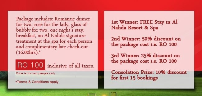 hotel and spa valentine's day