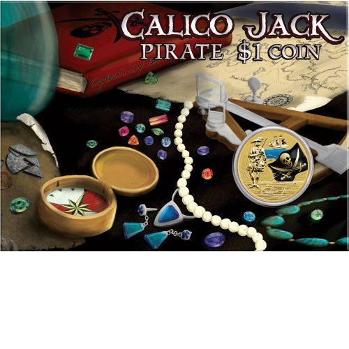 Young Collectors Calico Jack $1 Coin | The Perth Mint