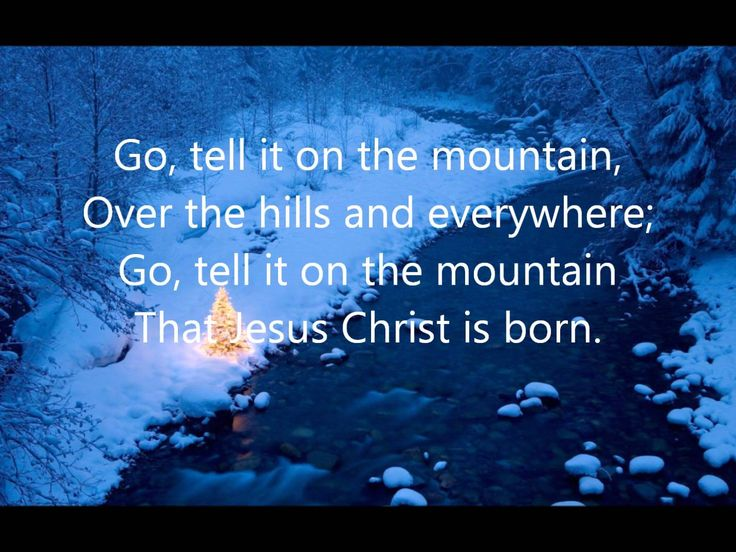 Cedarmont Kids - Go Tell It On The Mountain with Lyrics