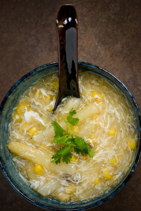 Indochine Kitchen » Corn and Crab Soup