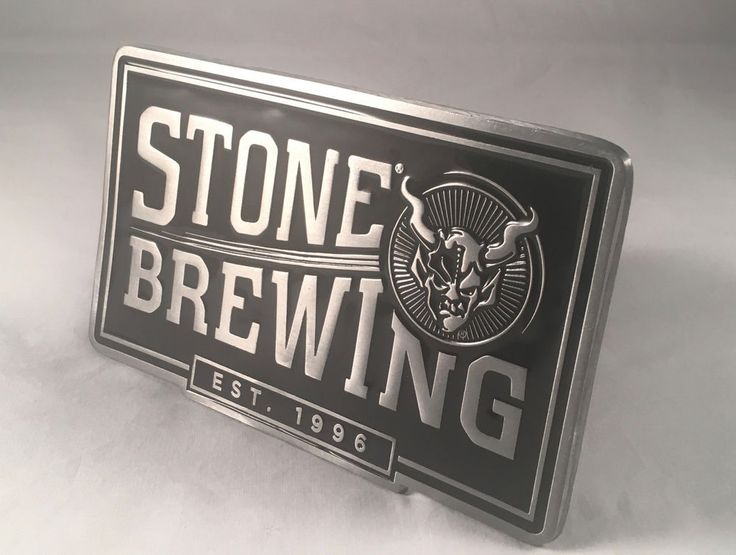 Stone Brewing Company Billboard Ale Trailer Hitch Camping Truck Homebrew Beer #StoneBrewing