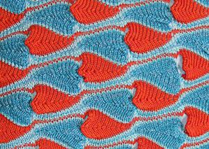 keikei.co.uk | karina klucnika | textile designer    (want this stitch pattern)