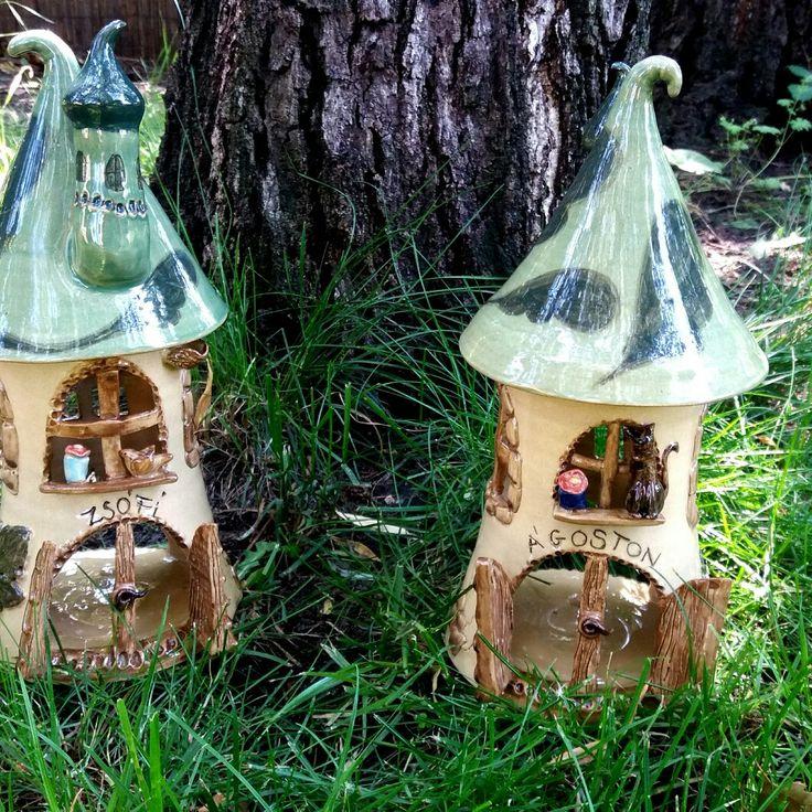 #myceramics #gardenceramics #elfhouse #gnomehouse #handmadeceramics # gardenceramics