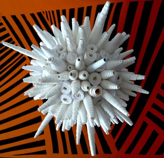Paper Art Sculpture Bright star by abadova on Etsy