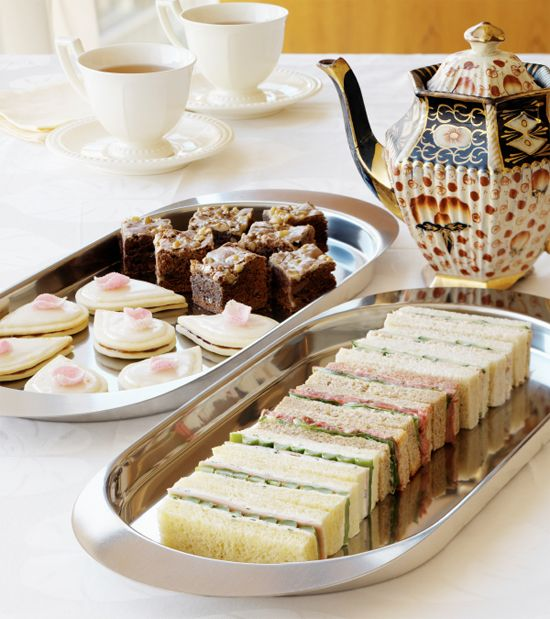 A fun, casual afternoon tea party
