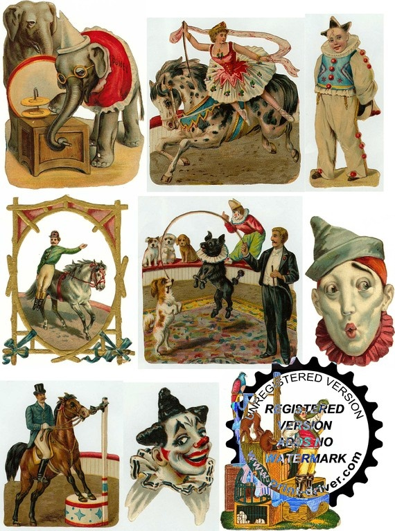 vintage circus pictures