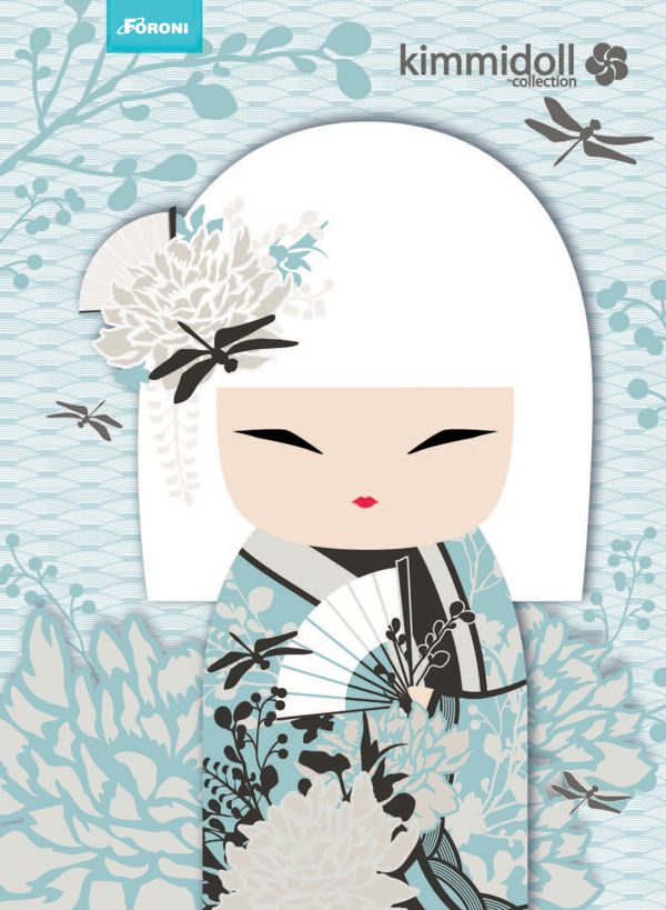 "✿ Kimmidoll Illustration ~ ""Miyuna"" 'Graceful' ✿"