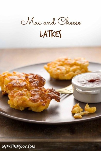 Mac and Cheese Latkes