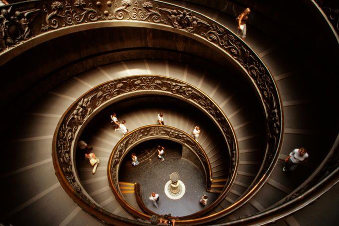 Vatican Museums in Rome.