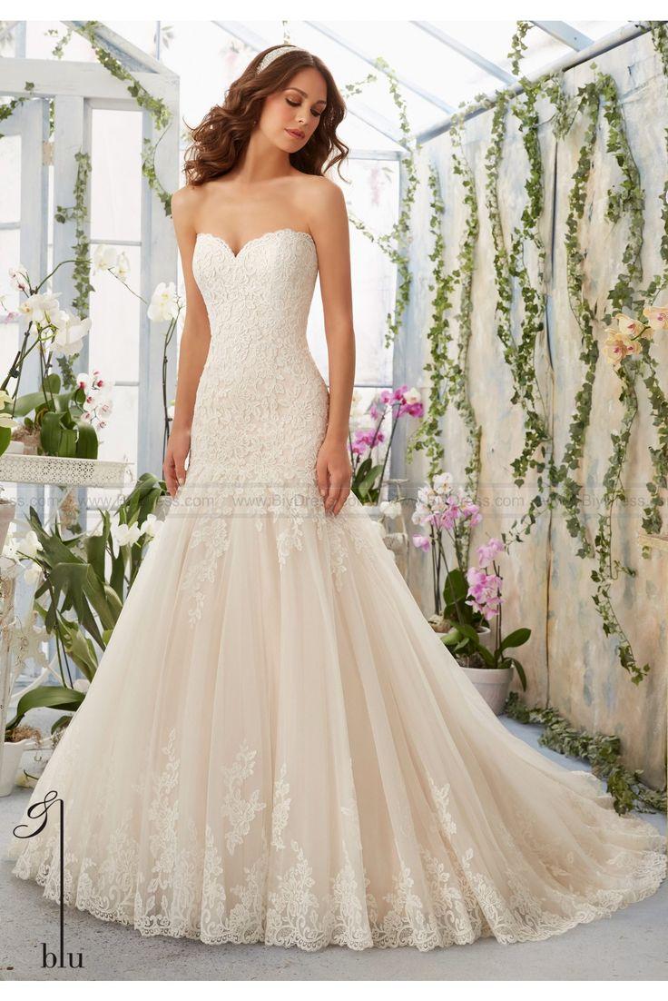 Mejores 63 imágenes de mori lee wedding dresses 2016 en Pinterest ...