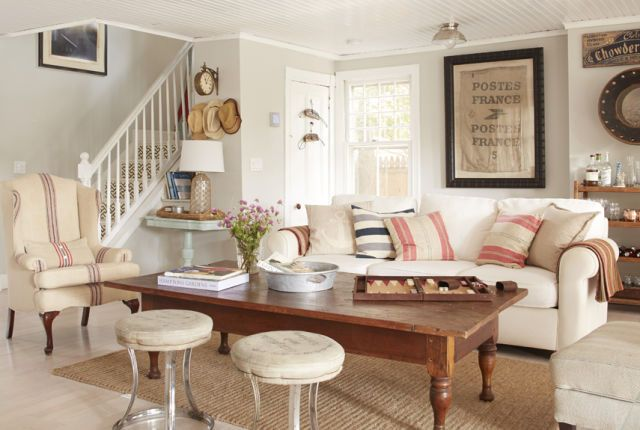 Before and After: Inside an 1885 Coastal Cottage Filled with Salvaged Finds