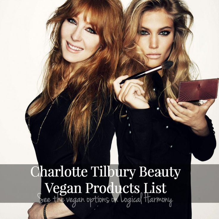 Logical Harmony helps you find the Charlotte Tilbury Beauty vegan products!
