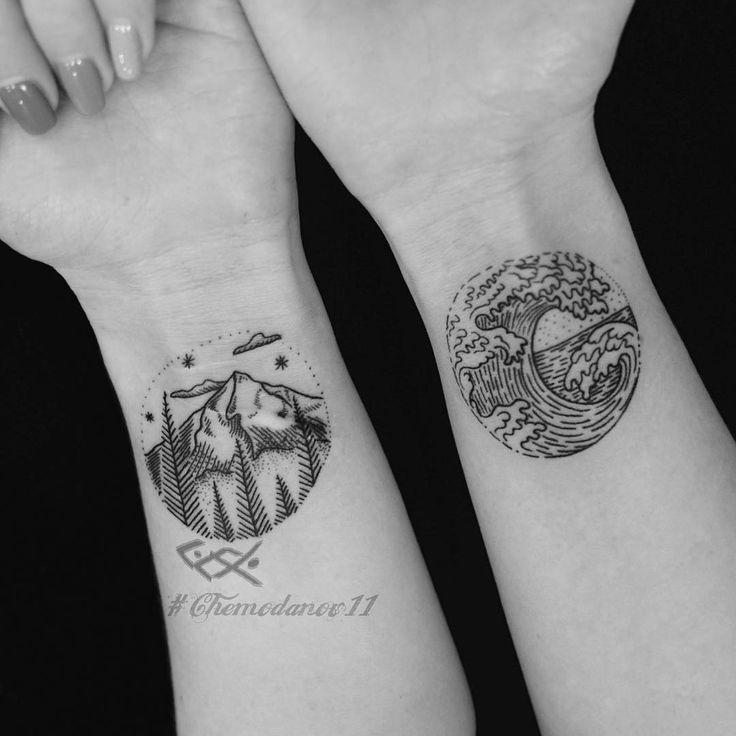 Ощущения #фиштату #тату #татуза #вмоскве #татумосква #лайнворк #горы #море #чемоданов #чб #fishtattoo #chemodanov #linework #t #tattoo #tattooed #tattoowork #msk #moscow #sea #mountain #inMoscow #ink