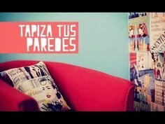 DIY: da vitalismo a tus paredes ¡decorando con tela! http://ini.es/1r5oI0w #DecoraciónConTela, #DecoraciónParedes, #DIY