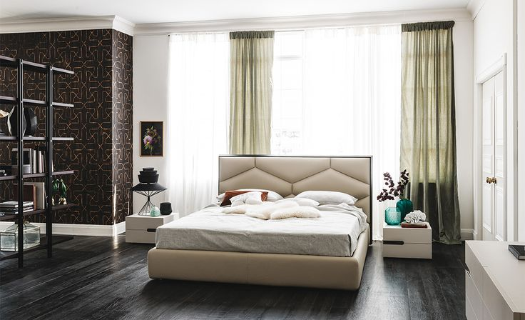Cattelan Italia Edward bed by Gino Carollo