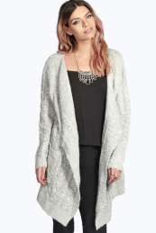 Candice Cable Waterfall Soft Knit Cardigan. Get wonderful discounts up to 60% Off at Boohoo with Coupon and Promo Codes.