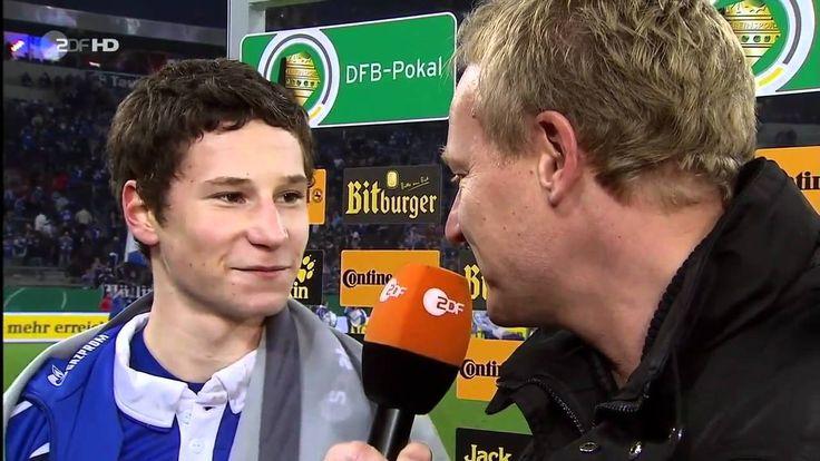 Das Tor in HD! Interview von Julian Draxler und Felix Magath auf ZDF HD Tor von Julian Draxler 2 Minuten vor Schluss gegen Nürnberg