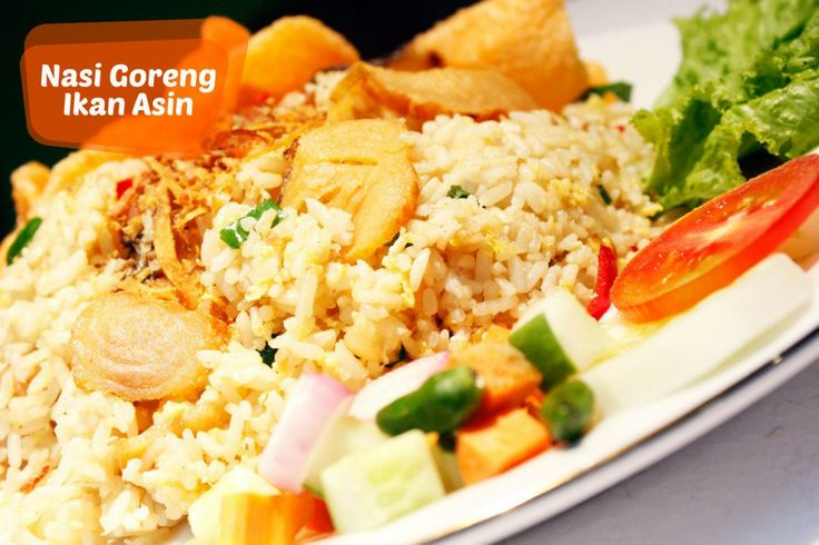 Resep Nasi Goreng Ikan Asin Mak Nyus | Anyamanku
