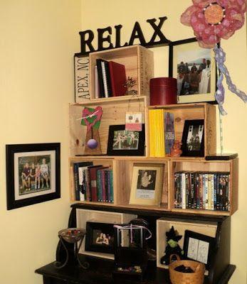40 formas de decorar e organizar a casa com caixotes