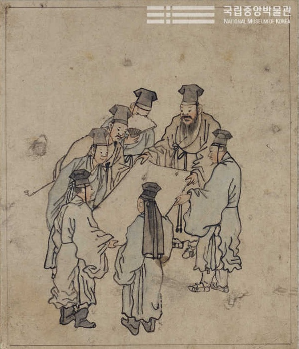 Kim Hong-do (Korea artist) in the 18th century