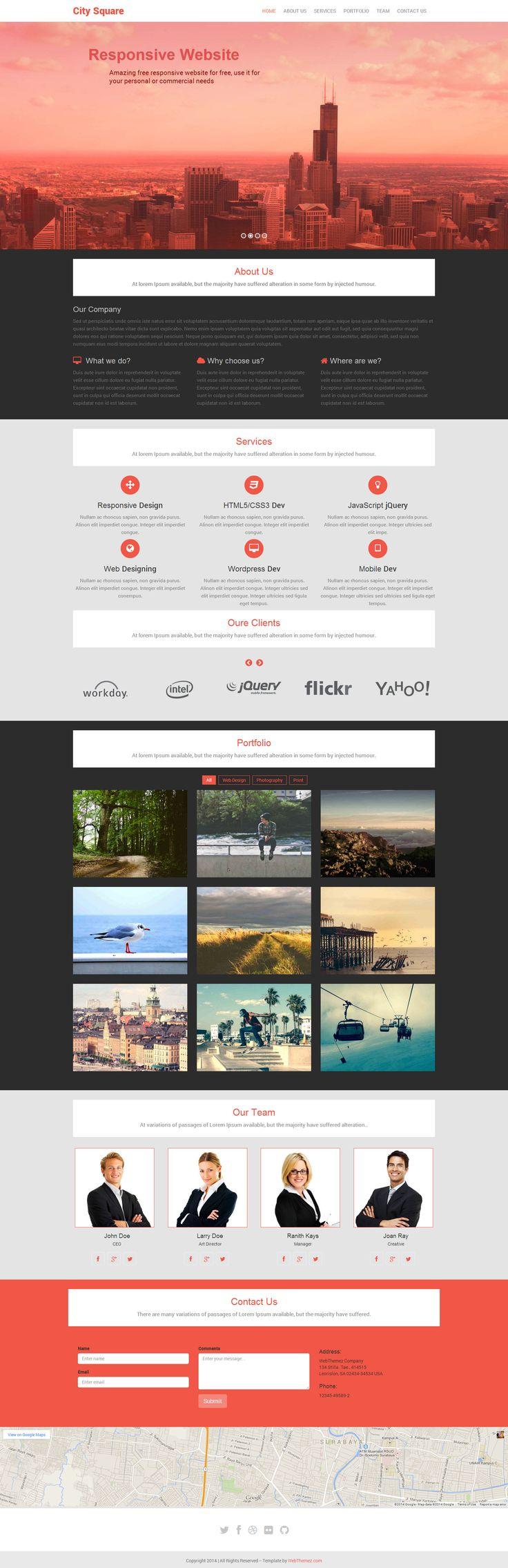 23 best Portfolio Websites images on Pinterest | Portfolio website ...