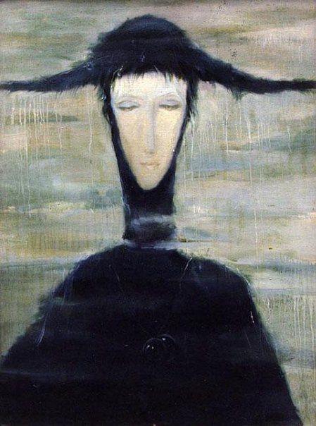 «Женщина дождя» 1996 / Светлана Телец
