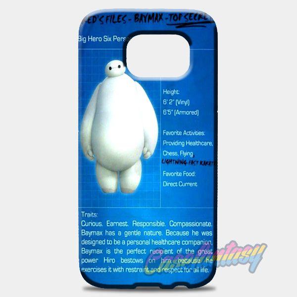 Big Hero Baymax Biodata Samsung Galaxy S8 Plus Case | casefantasy