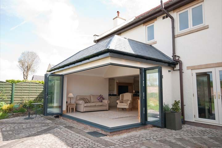 Contemporary Garden Room, Flintshire - Architectural Services in Flintshire
