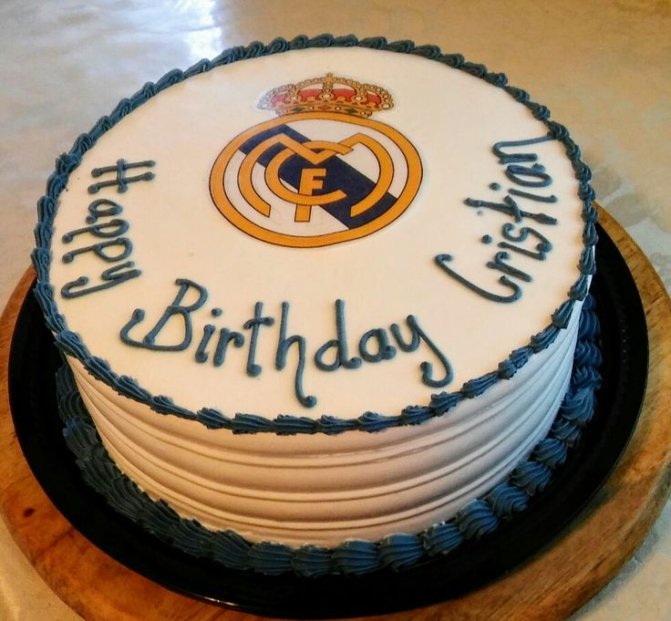17 Best ideas about Real Madrid Cake on Pinterest Real ...