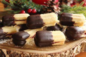 Vanilkovo čokoládové tyčinky